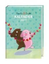 Bücker, Jutta Rosalie & Trffel Kalenderbuch A6 - Kalender 2017
