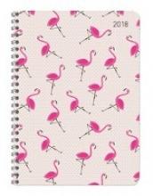 Ladytimer Ringbuch Flamingos 2018
