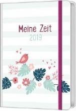 Meine Zeit 2019 - Taschenkalender (Farbenfroh)