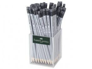 , potlood Faber-Castell GRIP 2001 HB met gum koker a 72 stuks