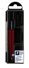 , Passer Staedtler 550 Noris schoolpasser metallic rood