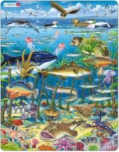 Larsen puzzel- Wilde dieren in de oceaan-FH13