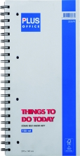 , Things to do today Budget notitieboek