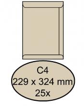 , Envelop Clevermail akte C4 229x324mm 120gr creme 25 stuks