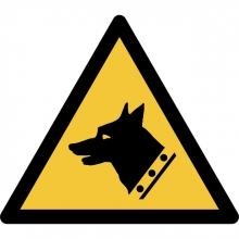 , Pictogram Tarifold waarschuwing waakhond 200x176mm