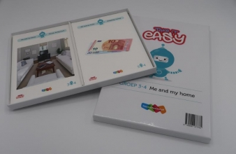 , Take it easy Woordkaarten Groep 3-4 - Me and my home