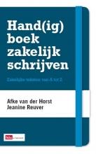 A. van der Horst J. Reuver, Hand(ig) boek zakelijk schrijven