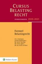 Cursus Belastingrecht Formeel Belastingrecht 2020-2021 2020-2021