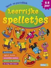 ZNU Speel- en puzzelblok Leerrijke spelletjes (6-8 jaar)