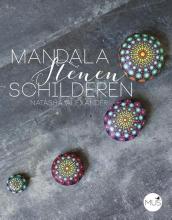 Natasha  Alexander Mandalastenen schilderen