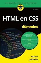 Jeff Noble Ed Tittel, HTML en CSS voor Dummies
