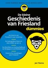 Jan  Ybema De kleine Geschiedenis van Friesland voor Dummies