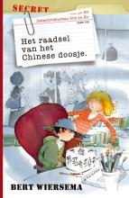Wiersema, Bert Het raadsel van het Chinese doosje