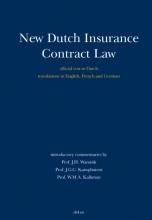 W.M.A. Kalkman J.H. Wansink  J.G.C. Kamphuisen, New Dutch Insurance Contract Law