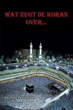 Walter Tessensohn , Wat zegt de Koran over...