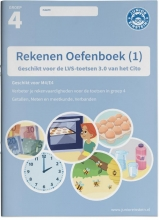 , Rekenen Oefenboek deel 1 groep 4 Geschikt voor de LVS-toetsen van het Cito 3.0 - M4/E4