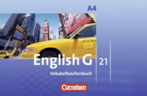 Schwarz, Hellmut,English G 21. Ausgabe A 4. Vokabeltaschenbuch