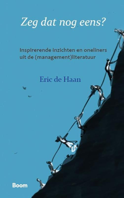 Eric de Haan,Zeg dat nog eens?