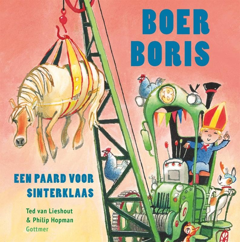 Ted van Lieshout,Boer Boris, een paard voor Sinterklaas