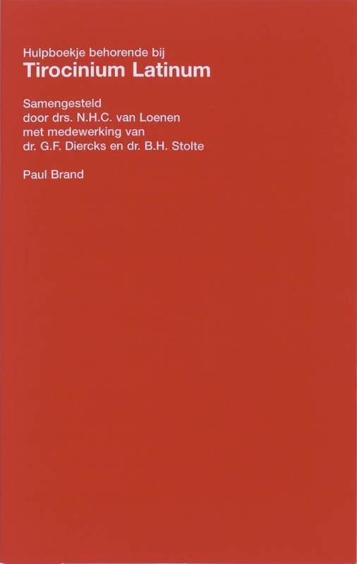 N.H.C. van Loenen,Tirocinium latinum hulpboekje