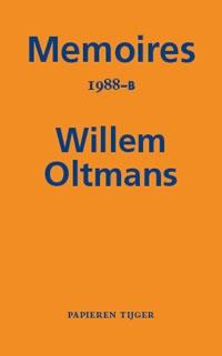 Willem Oltmans,Memoires 1988-B