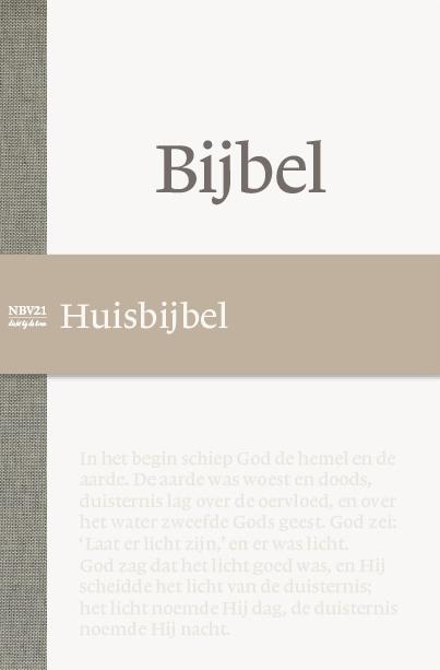 NBG,Bijbel NBV21 Huisbijbel
