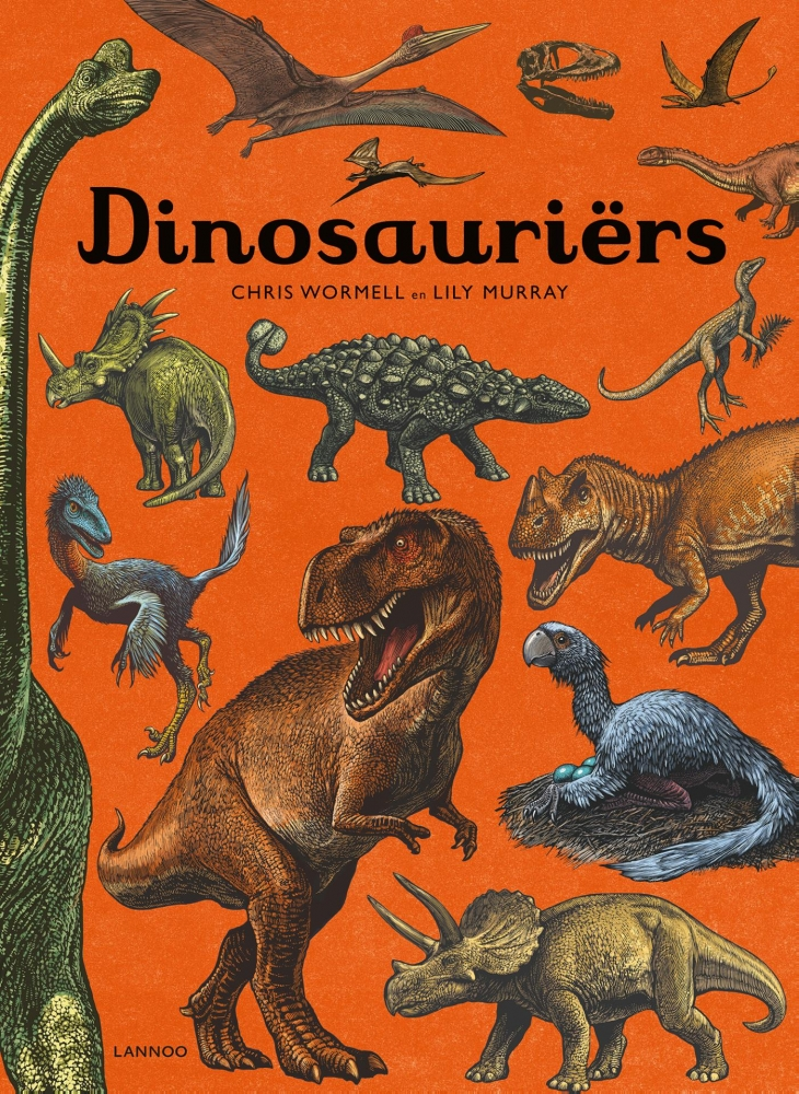 Chris Wormell, Lily Murray,Dinosauriërs