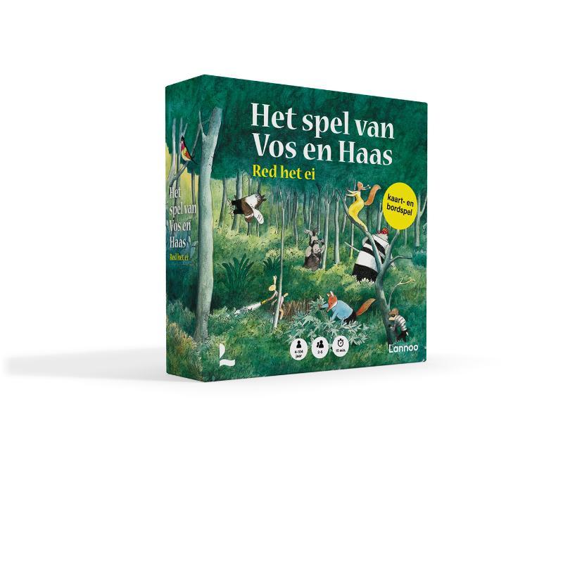 Sylvia Vanden Heede, Thé Tjong-Khing, Bannan Games,Het spel van Vos en Haas - Red het ei