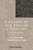 Fulk, Robert D.,A History of Old English Literature