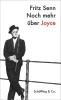 Senn, Fritz,Noch mehr über Joyce