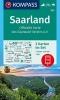 ,Saarland 1:50 000 Offizielle Karte des Saarwald-Vereins e.V.