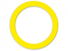 ,sleutelring Alco doos a 100 stuks geel