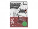 ,schutbladen ProfiOffice A4 270gr. karton 100 stuks leer     groen