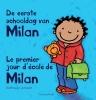 Kathleen  Amant,De eerste schooldag van Milan - Le premier jour d`ecole de Milan