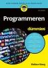 Wallace  Wang,Programmeren voor Dummies