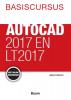 Harold  Weistra,Basiscursus AutoCad 2017 en LT 2017