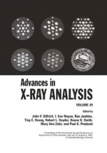 John V. Gilfrich,   I. Cev Noyan,   Ron Jenkins,   Ting C. Huang Advances in X-Ray Analysis