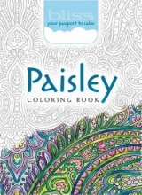 Kelly Baker BLISS Paisley Coloring Book