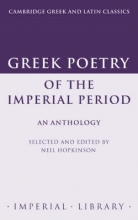 Neil Hopkinson Greek Poetry of the Imperial Period