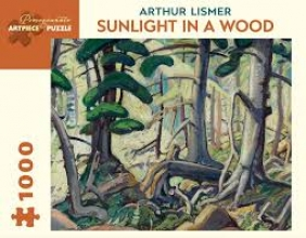 Not Available Arthur Lismer Sunlight in a Wood 1,000-piece Jigsaw Puzzle