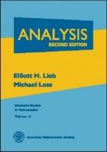Elliott H. Lieb,   Michael Loss Analysis