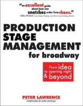 Lawrence, Peter Production Stage Management for Broadway