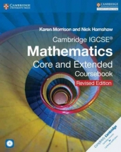 Morrison, Karen Cambridge Igcse Mathematics Core and Extended Coursebook [With CDROM]