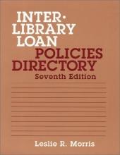 Sarah Katherine Thomson,   Leslie R. Morris Interlibrary Loan Policies Directory