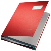 , Vloeiboek Leitz 5700 rood