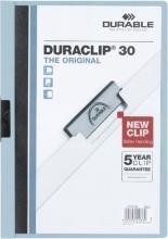 , Klemmap Durable 2200 A4 3mm lichtblauw