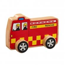 , Lanka kade brandweerauto van hout