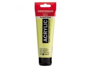, Talens amsterdam acrylverf tube 120 ml nikkel titaangeel 274