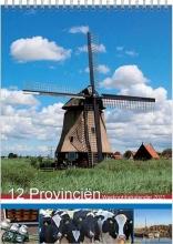 , Week notitie kalender 2021 12 provinciËn 16.5x23
