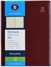 , Bureau agenda 2021 ryam executive 7dag/2pag bordeaux 17x22